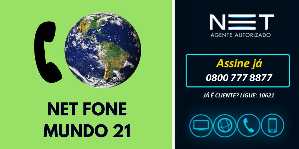 Net Fone Mundo 0800 777 8877 Melhor Plano P Ligar Pro Exterior