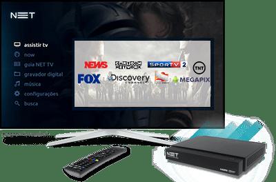 Assine NET TV Top HD Max
