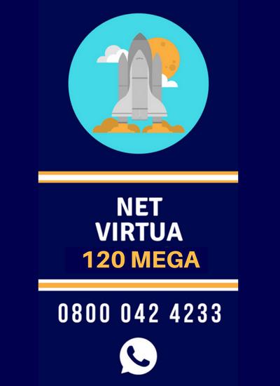 Assine NET Virtua 120 Mega