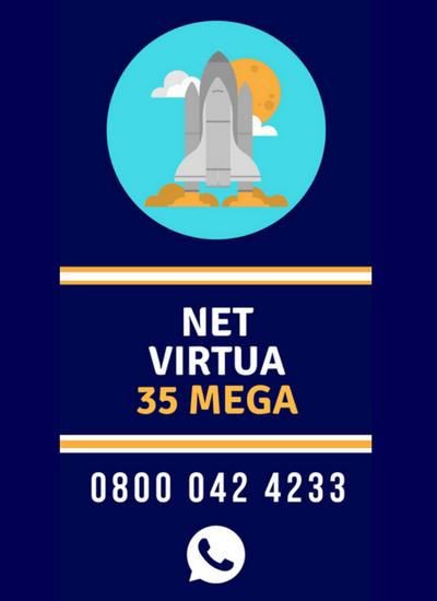 Assine Internet NET Virtua 35 Mega