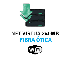 Assine Internet NET 240 Mega