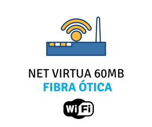 Assine NET Virtua 60 Mega