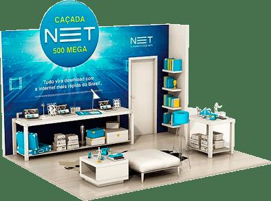 Assine Claro NET 500 Mega